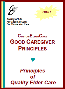 Custom Elder Care Good Caregiver Principles